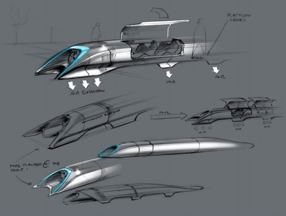 HyperLoop is the Fifth Mode of Transportation