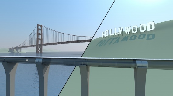 HyperLoop Alpha System Goes Hollywood